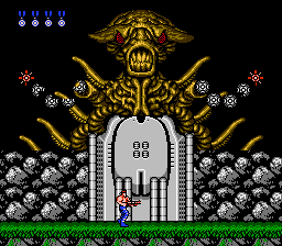 Contra - Battle  - Stage 3 Boss - User Screenshot